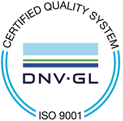 Certified Quality System ISO 9001